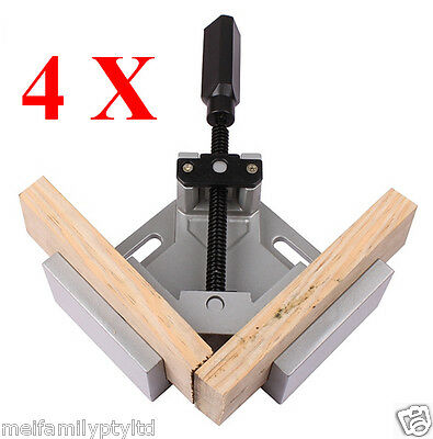 4× Die Cast Corner Clamp Mitre Clamp Right Angle Picture Framing Vice Vise Tools