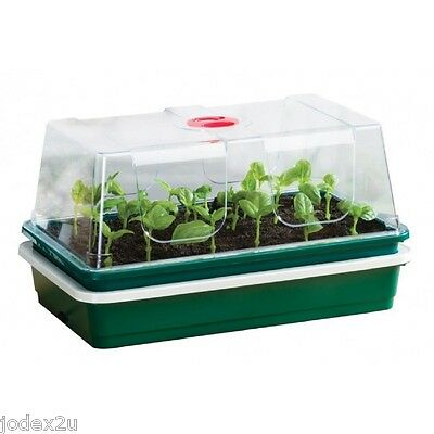 Garland Electric Heated One Top Propagator with High Dome Ventilated seed tray