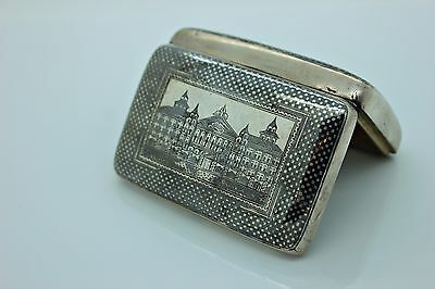 Antique Original Perfect Silver Ottoman Van Armenian Amazing Cigarette Case