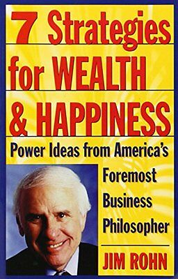 Seven Strategies for Wealth and Happiness-Jim Rohn