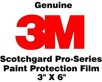 """3M Scotchgard Paint Protection Film Pro Series (Sample Size Pack of 5) 3"""" x 6"""""""