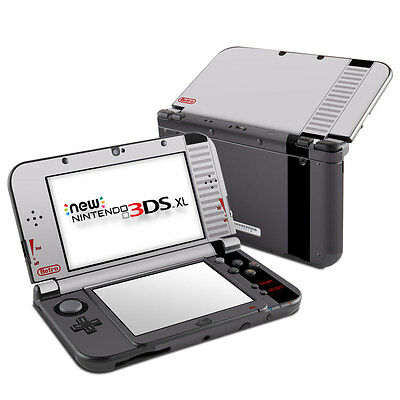 NEW Vinyl Skin for Console 2DS 3DS XL Retro nes Sticker Decal Cover