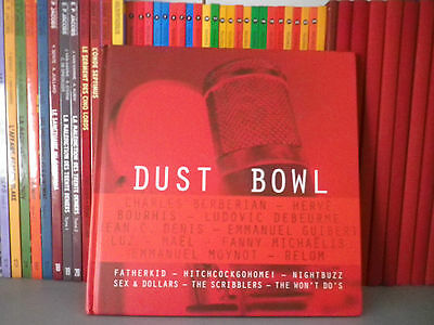 Dust Bowl - Collectif - BD + CD - Art - Illustration - Musique