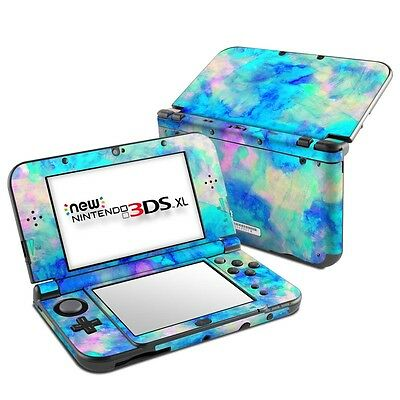 NEW Vinyl Skin for Console 2DS 3DS XL Ice Blue Sticker Decal Cover