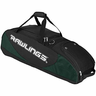 Rawlings Player Preferred Wheel Bag, Dark Green
