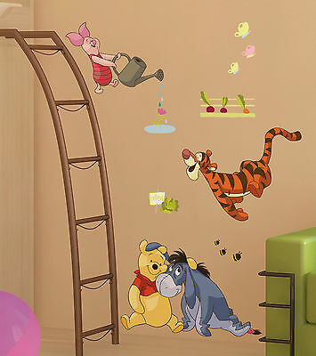 wandtattoo wandsticker xl winnie pooh tigger wandaufkleber kinderzimmer disney f eur 9 90. Black Bedroom Furniture Sets. Home Design Ideas