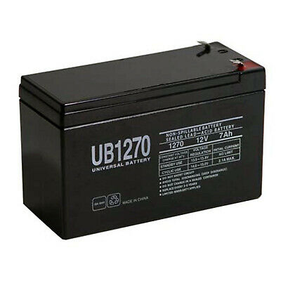 UPG 12V 7AH Battery for Humminbird Ice 45 Portable Flasher WITH CHARGER