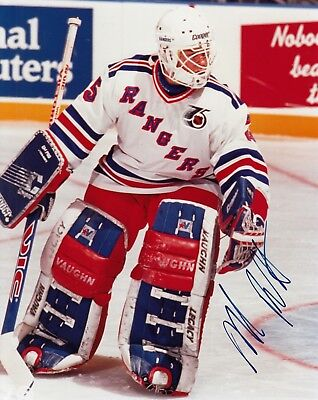 d2647b30a89 Mike Richter New York Rangers Autographed Signed 8x10 Photograph with COA