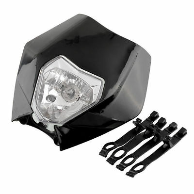 Universal Off Road Dirt Bike StreetFighter Vision Headlight Fairing Motorcycle