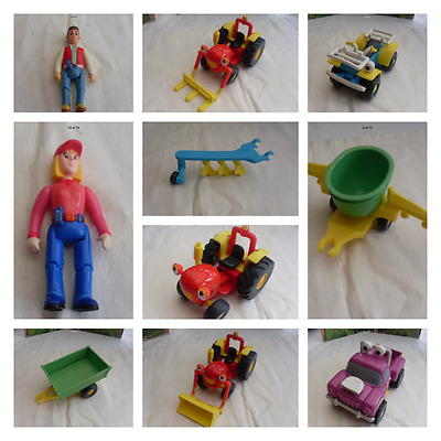 Tractor Tom Vehicles And Figures = Please Select From The Stock Menu