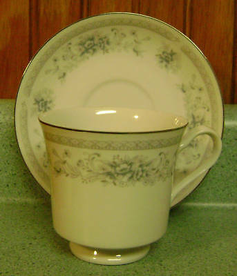 American Limoges Bridal Bouquet Cup & Saucer