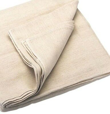 1 Large ( 24' X 3' ) Stairway Stair Runner Dust Sheet 100% Cotton Professional