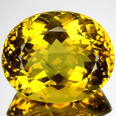 109.36 Cts Top Quality Golden Yellow Color Natural Andesine Gemstones- Vs