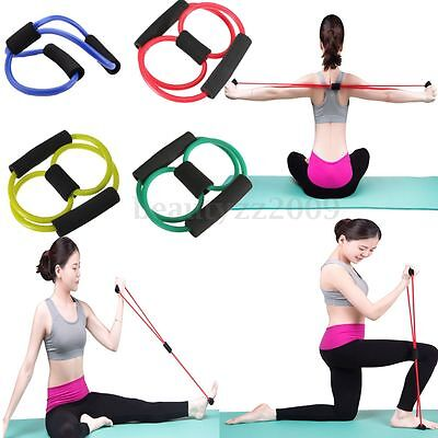 Resistance Band Yoga Pilates Estensibile Stretch Fitness Tubo Elastico ABS