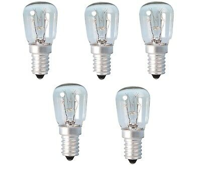 5 x Appliance Lava Larva Lamp 25W SES E14 Pygmy Screw in Light Bulb Bulbs Lamps