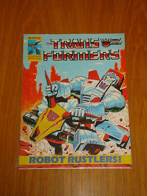 Transformers British Weekly #49 Marvel Uk Comic 1986