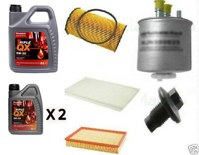 Land Rover Discovery 3 2.7 Tdv6 04 06 Filter Kit, Oil/fuel/air 7 L Oil - Sk011