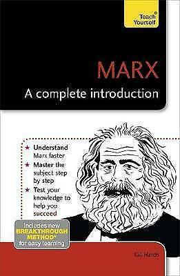 Marx: A Complete Introduction: Teach Yourself, Hands, Gill, New