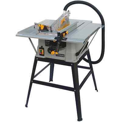 Table Saw 230-240V 1500W Titan 254mm Powder Coated Extensions Fence 40TCT Blade