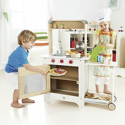 *SALE* Hape Wooden Cook 'n Serve Kitchen Cooker and Shop Role Play Activity