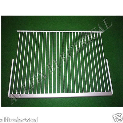 Used Kelvinator Fridge N360H N410H Large Wire Shelf with Trim - Part # 1436384SH