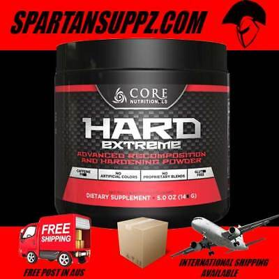 Core Nutritionals HARD EXTREME Recomposition Supplement | Test Fury Extreme Pump