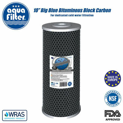 "10"" Jumbo Carbon Block Filter 10M Koi Pond Filter"