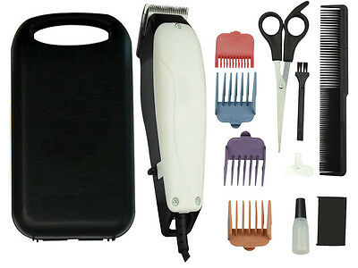 11 Pc PET GROOMING KIT DOG CAT HAIR TRIMMER CLIPPER SHAVER W/ CASE PROFESSIONAL