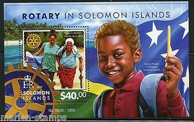 Solomon Islands 2015 Rotary In The Solomon Islands Souvenir Sheet Mint Nh