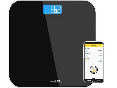 Personenwaage smartLAB scale W mit Bluetooth Smart u. ANT+  für iOS, Android
