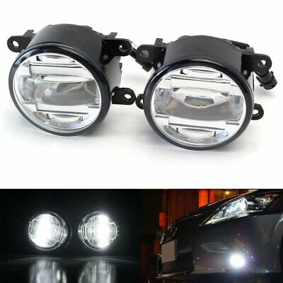 Direct Fit 15W LED Projector Fog Lights For Acura Honda Ford Nissan Infiniti etc