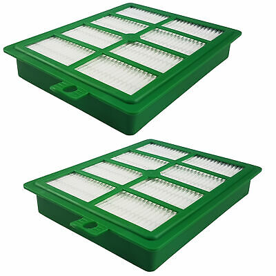 2x Hepa Abluft Filter passend AEG AEF 12, Electrolux EFH 12, Philips FC8038/01