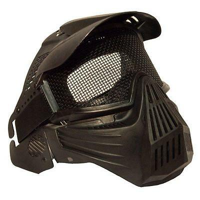 Airsoft & Paintball Sports Full Face Protect Safety Mask Pellet Goggles New A80