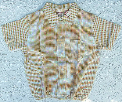 Vintage Aertex shirt Childrens size 3 Age 5 to 6 years 1930s to 1950s UNUSED
