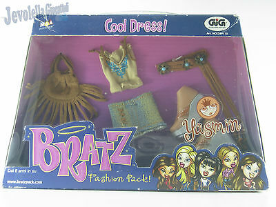 BRATZ Fashion Pack! YASMIN - COOL DRESS! - GIG MGA Entertainment Vintage Raro