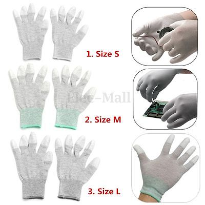 Anti Static Antiskid Glove PC Computer Phone Repair ESD Electronic Labor Worker