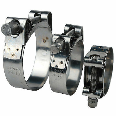 Mikalor Stainless Steel W2 Supra Heavy Duty T-Bolt Hose Clamp High Pressure