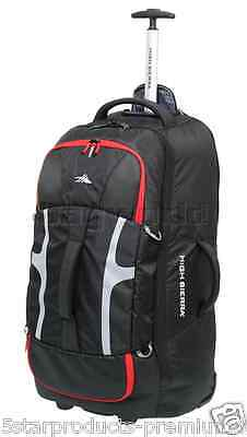 NEW High Sierra Composite 74cm Wheeled Duffle backpack bag excellent for travel