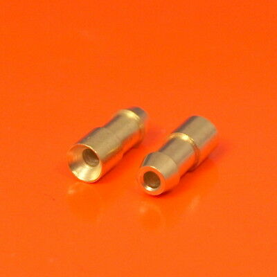 High Quality 4.7mm Lucas Triumph Norton Land Rover Style Brass Bullet Connectors