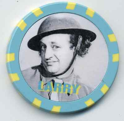 Larry The Three Stooges  Collector Chip