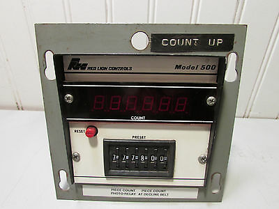 Red lion Controls Model 500 Counter CA400-DD6