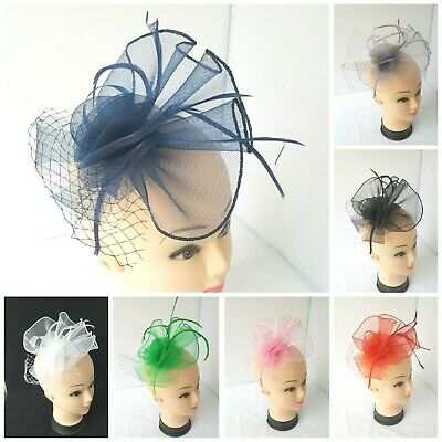 Flower Headband Fascinator Weddings Ladies Day Race Royal Ascot