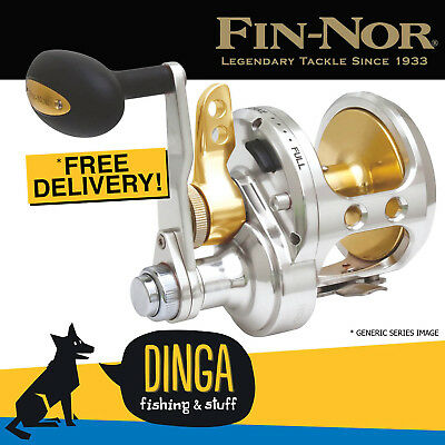 Fin-Nor Marquesa MA20 2 Speed Leverdrag Overhead Fishing Reel