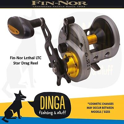 Fin-Nor Lethal Star Drag LTC20 Overhead Fishing Reel