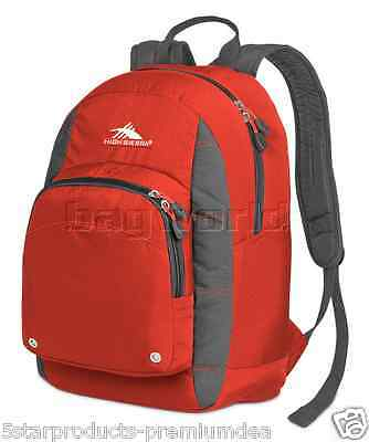 NEW High Sierra Impact Backpack Lava Daypack, bookbag nwt excellent for school