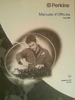 Manuale D'officina Perkins Serie 900  -  Tpd 1345I