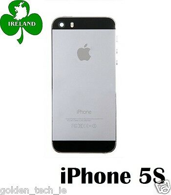For iPhone 5S Back/Battery Cover Plate Housing Replacement Space Grey
