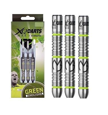 Michael van Gerwen Demolisher 70% Tungsten Steel Tip Darts by XQMax
