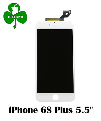For iPhone 6S Plus LCD Touch Screen Display Digitizer Glass Assembly Unit White