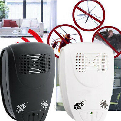 EU Plug Magnetic Ultrasonic Electronic Mouse Bug Mosquito Insect Repeller Zapper